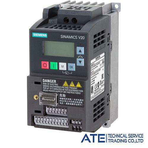 SINAMICS V20 Converter 1AC 200 V FSAB
